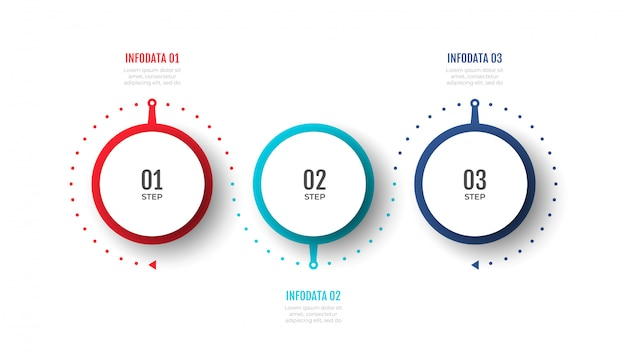 Timeline infographic design vector can be used for workflow layout, diagram, presentations Premium Vector