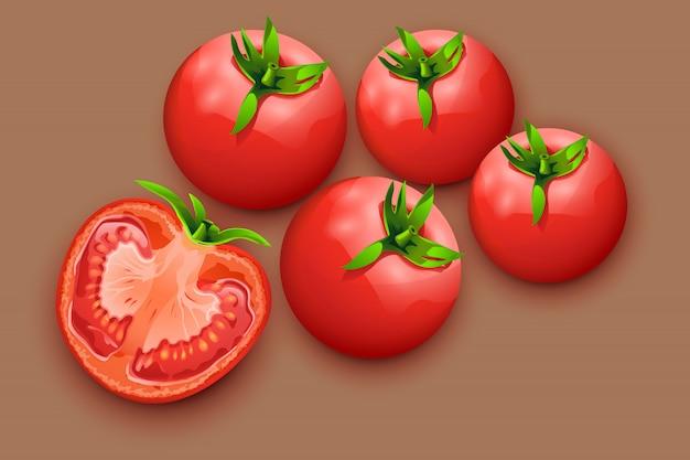 トマト Premiumベクター