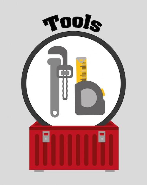 Tools design Premium Vector