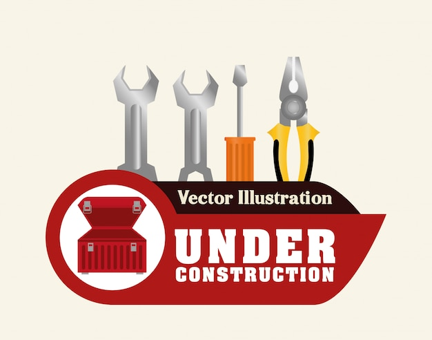 Tools design Premium Vector