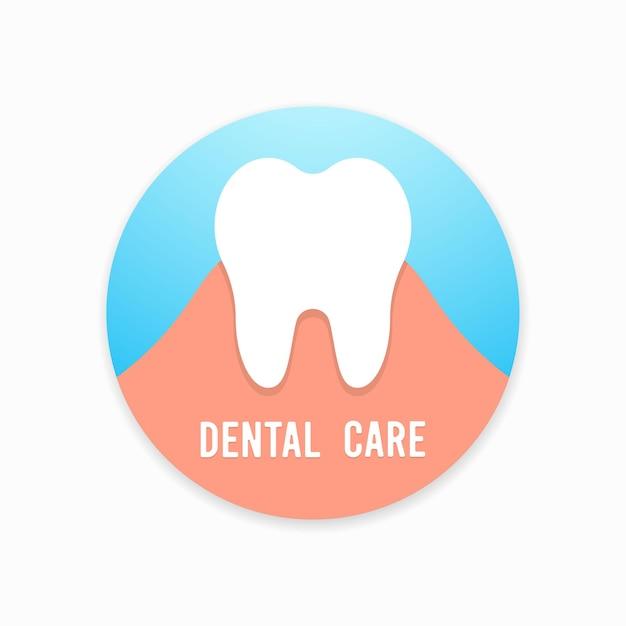 이. 치과, 의학 및 건강 개념 프리미엄 벡터