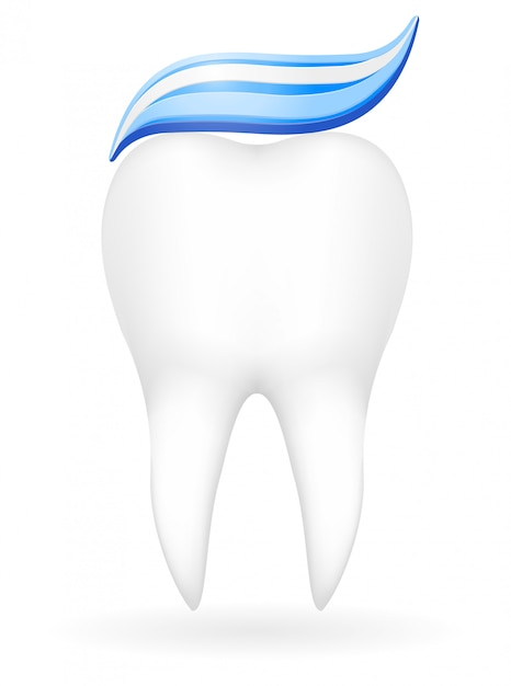 Tooth vector illustration Premium Vector