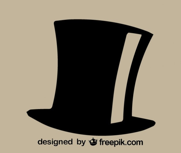 top hat icon vector | free download