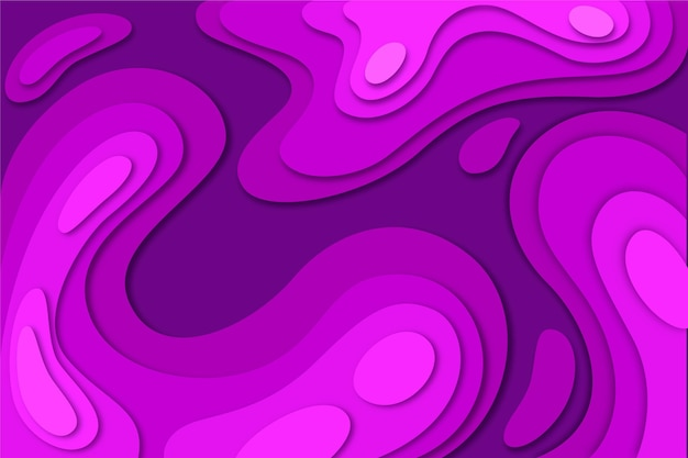 Topographic map background in acid bright pink shades Free Vector