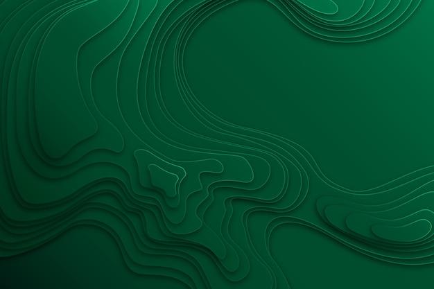 地形図の背景のコンセプト 無料ベクター