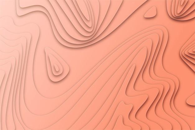 Concetto di sfondo mappa topografica Vettore gratuito
