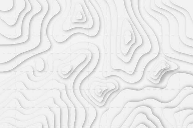 Topographic map background Free Vector