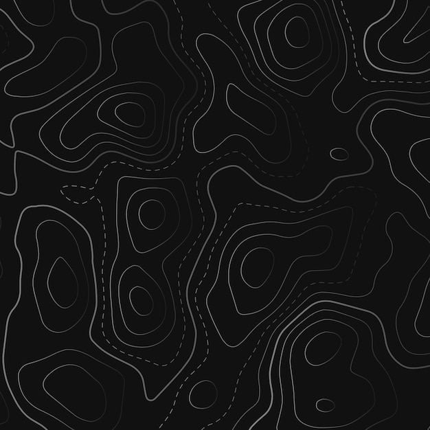 Topographic Map Vector Free.Topographic Map In Black Background Vector Free Download