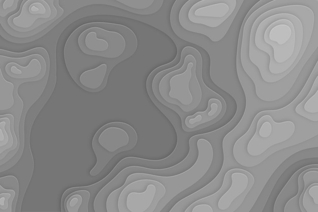 Topographic map wallpaper concept Free Vector
