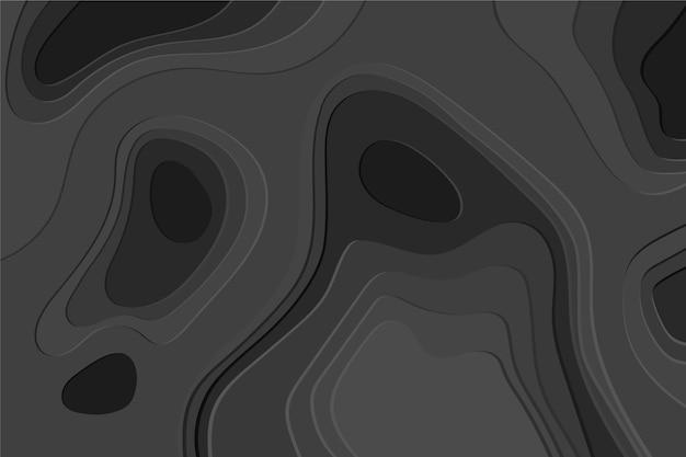 Topographic map wallpaper Free Vector