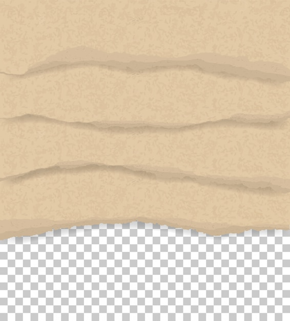 Torn paper edges for background Premium Vector