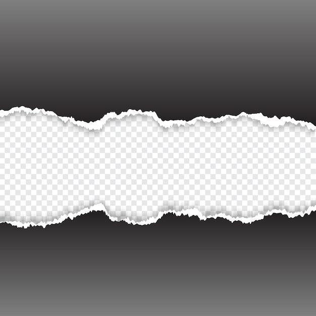 Рваная бумага Бесплатные векторы