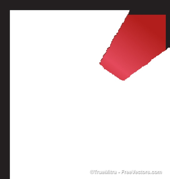 torned paper Free Vector