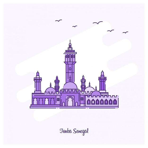Touba senegal landmark Vector | Free Download