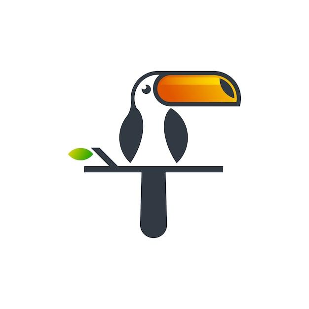 Toucan simple Premium Vector