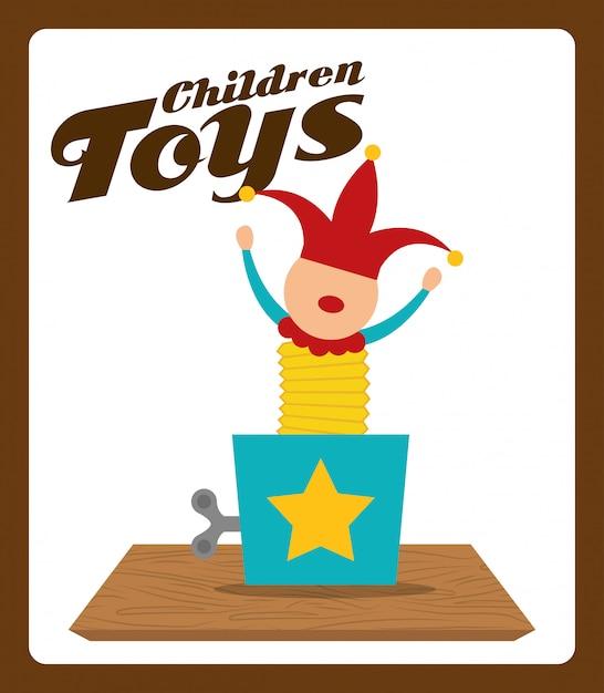 Toys design Premium Vector