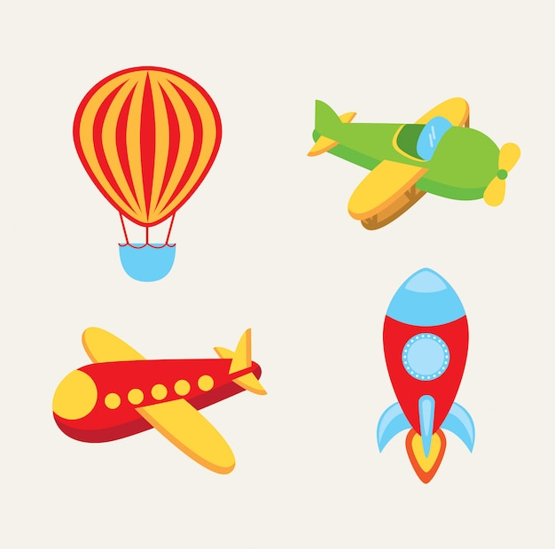 Toys Free Vector