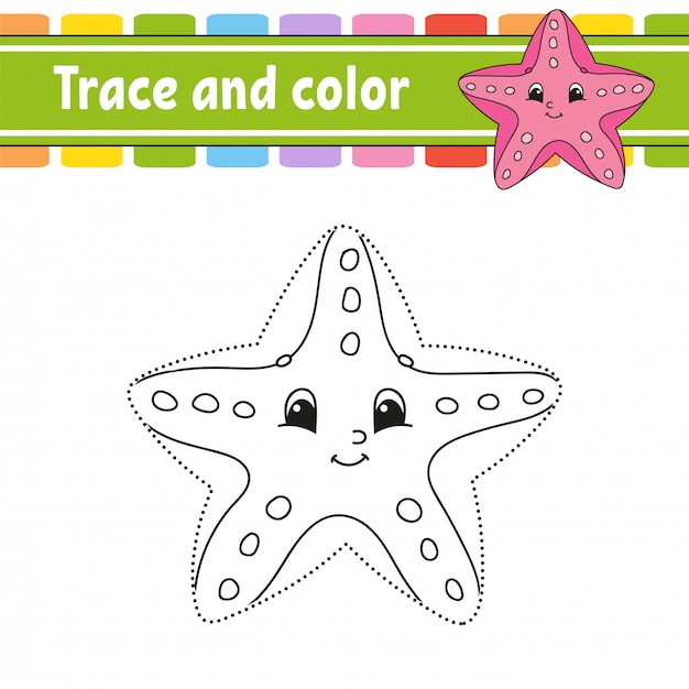 Starfish Coloring Pages Pictures - Whitesbelfast | 626x626