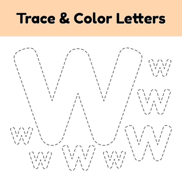 Трассировка письма для детского сада и дошкольников. написать и раскрасить ш. Premium векторы