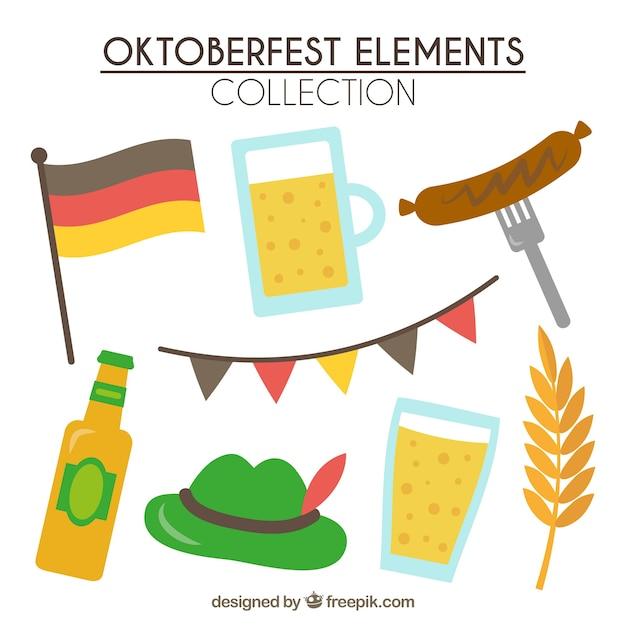 Traditional elements of oktoberfest