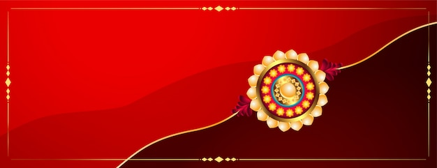 Insegna tradizionale di festival indiano di bandhan di raksha Vettore gratuito