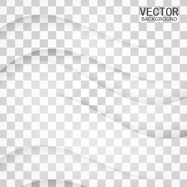 Transparent background curve Free Vector