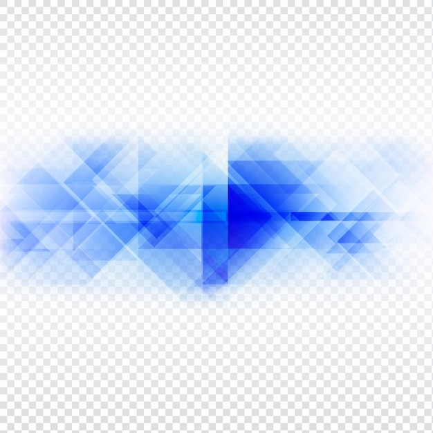 transparent background polygonal shapes vector free