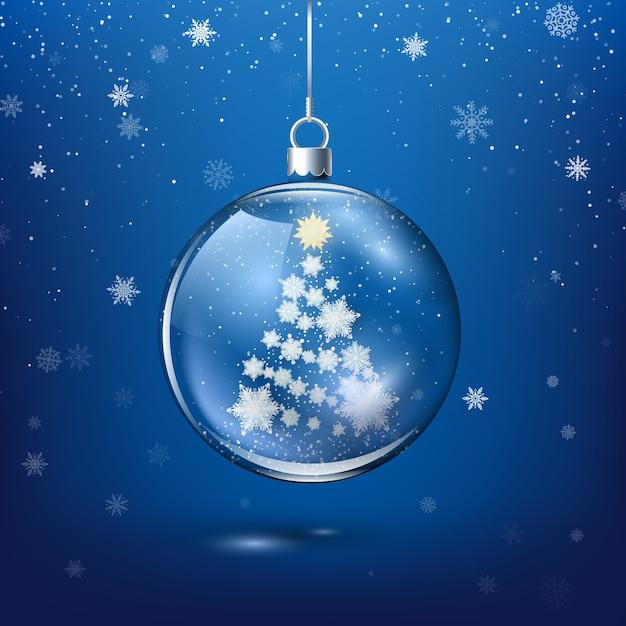 EPS trái châu trong suốt rang trí Giáng sinh