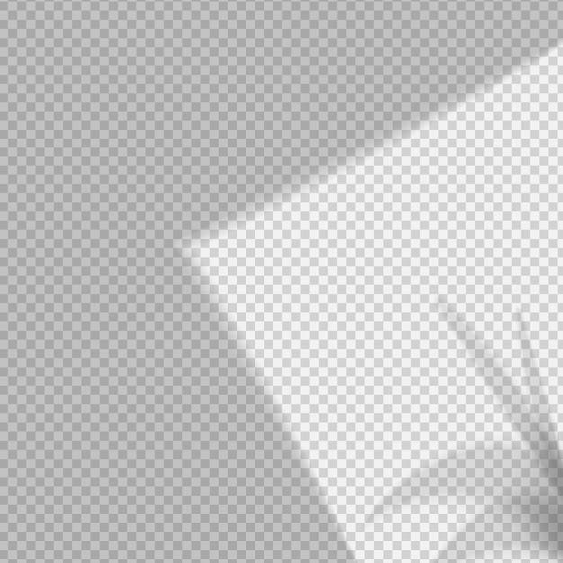 Transparent shadows overlay effect Premium Vector