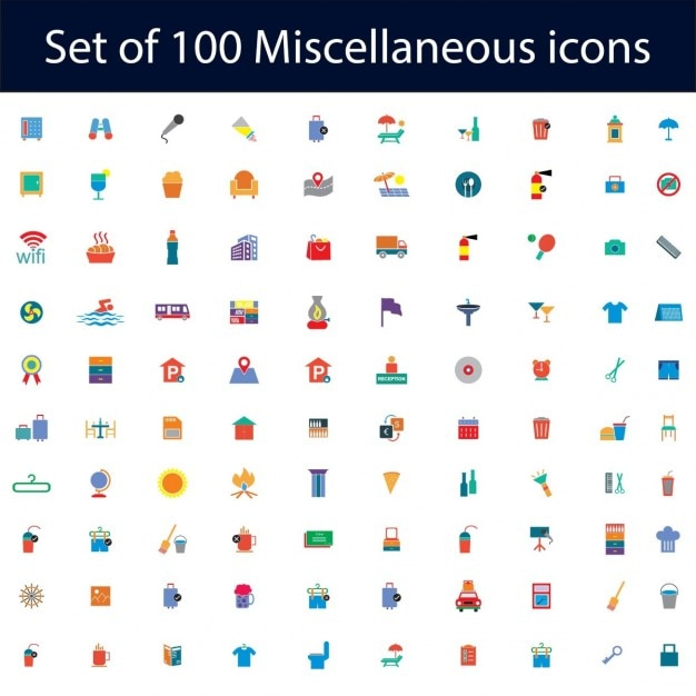Travel Icons Vector Free Download