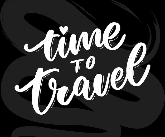 Travel life style inspiration quotes lettering. motivational typography. calligraphy graphic design element. collect moments old ways wont open new doors. lets go explore. every picture tells a story Premium Vector