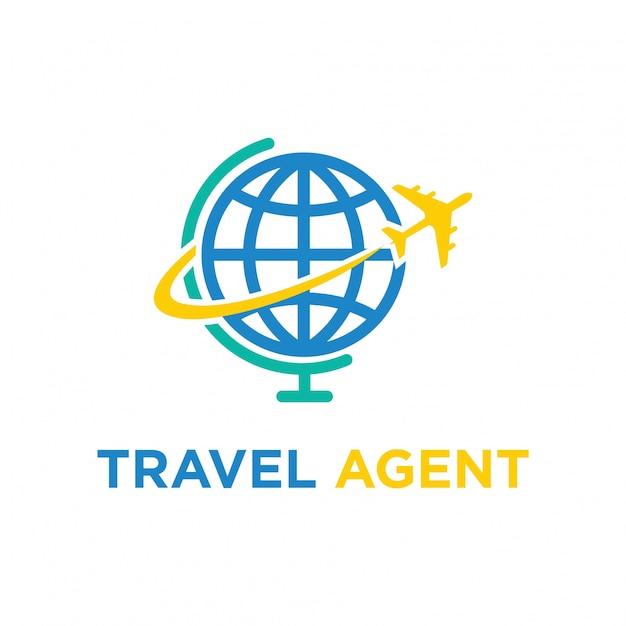 Travel Logo Icon Vector Design Illustration Premium