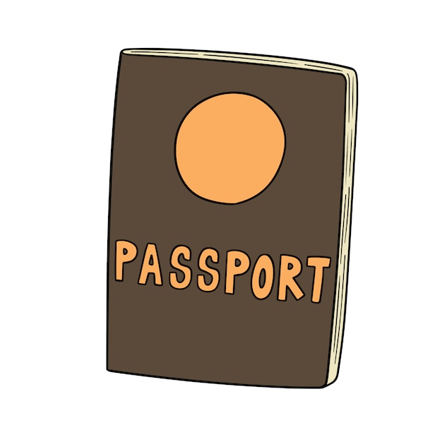 Travel passport Premium Vector