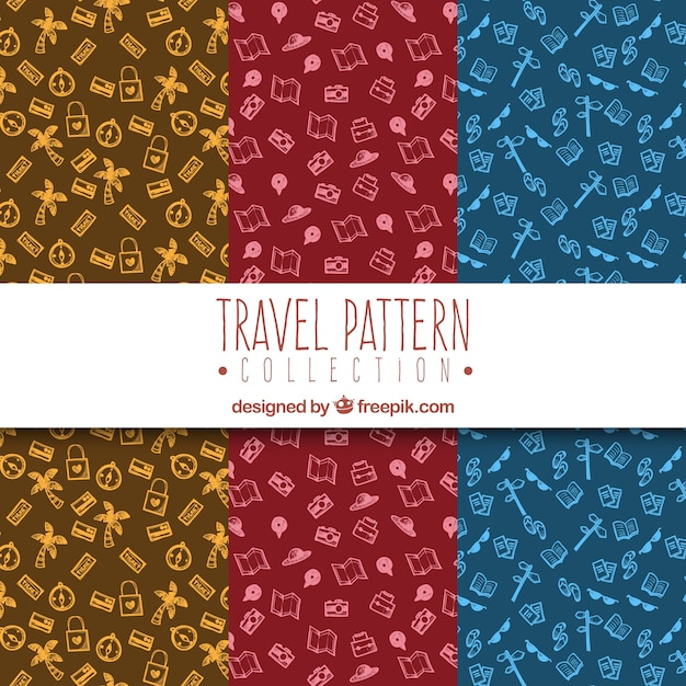 Travel pattern collection