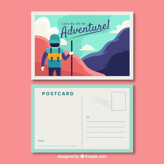 postcard vectors  photos and psd files