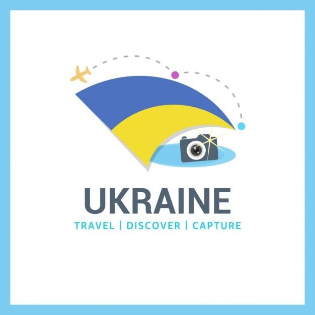 Travel to ucrania Free Vector