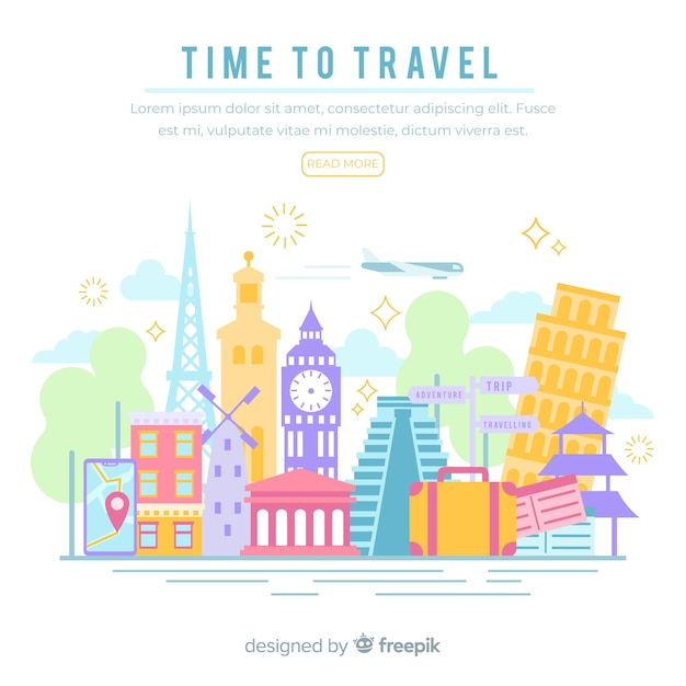 Travel Free Vector