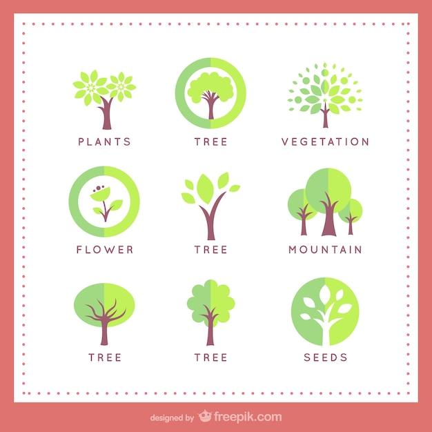 Tree Logo Vectors, Photos and PSD files   Free Download