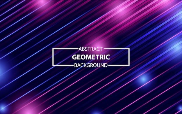 Trendy colorful geometric background Premium Vector