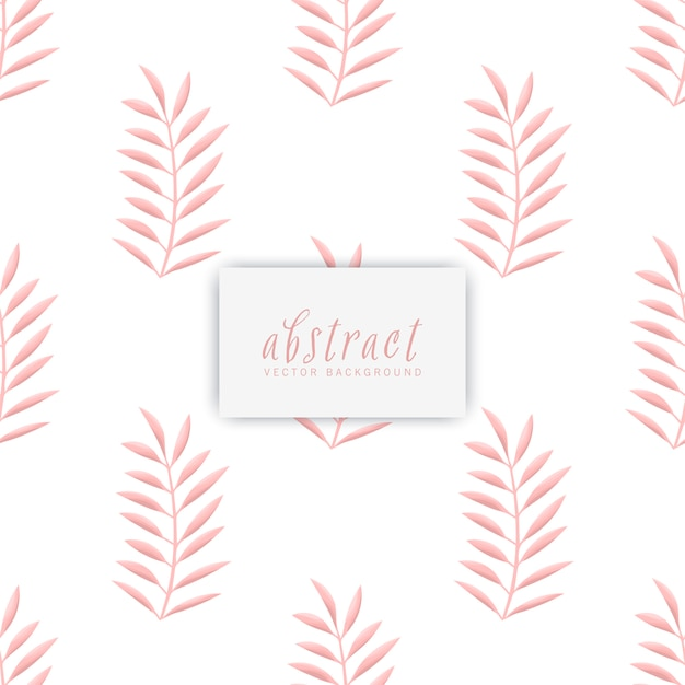 Trendy seamless floral pattern in vector illustration Free Vector