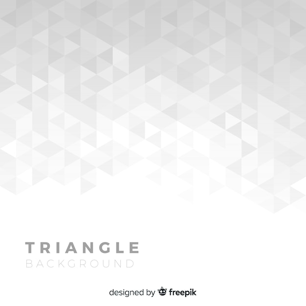 Triangle background Free Vector