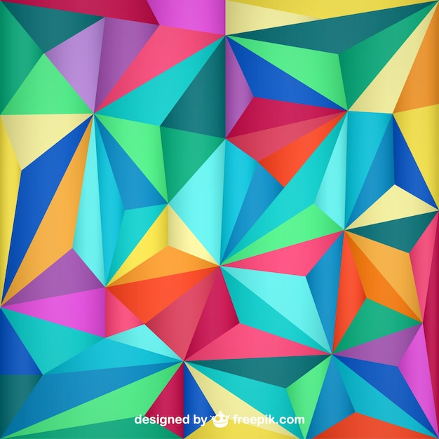 triangle design abstract background vector free download
