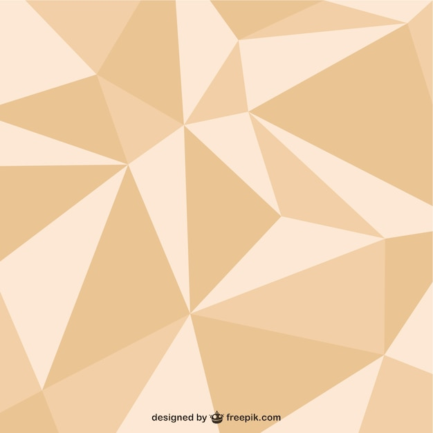 triangle design template vector free download