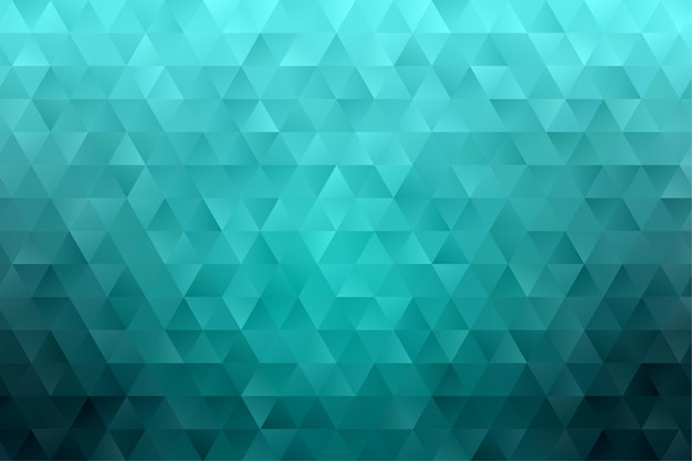 Triangle polygon geometric abstract background wallpaper vector Premium Vector
