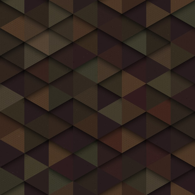 Triangles seamless pattern Premium Vector