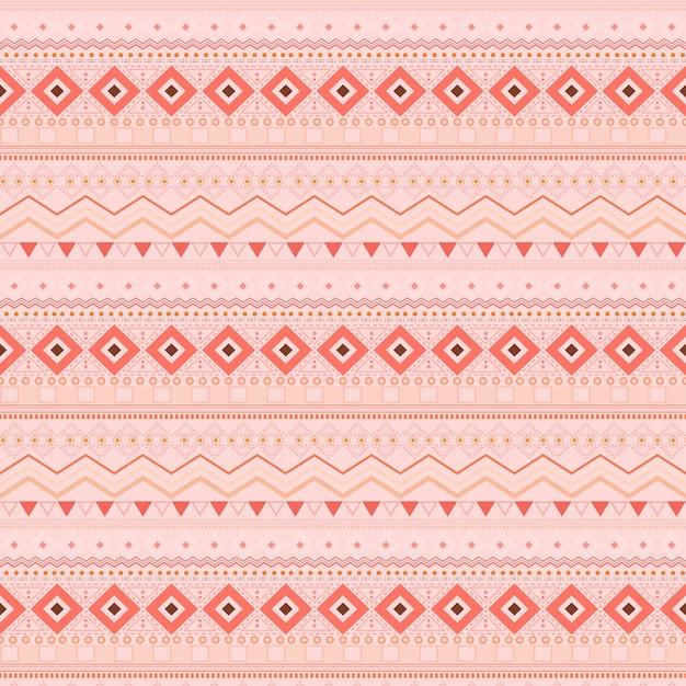 Tribal ethnic seamless stripe pattern wallpaper Premium Vector