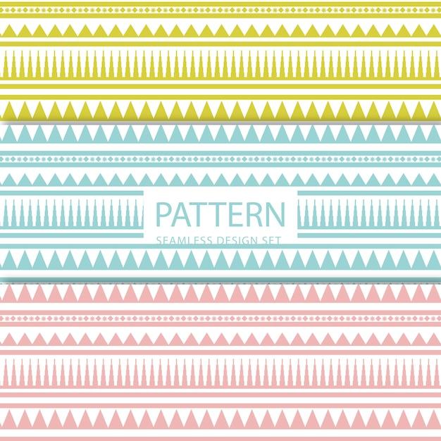 Tribal pattern Premium Vector