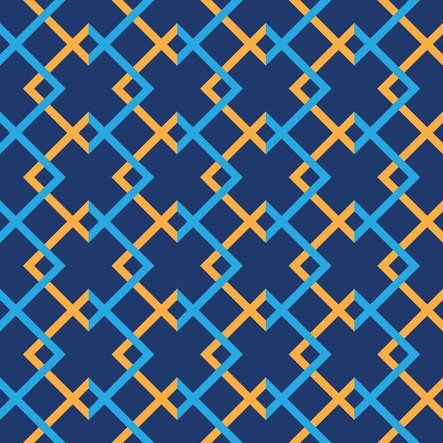 Tribal seamless pattern geometric seamless aztec pattern design Premium Vector