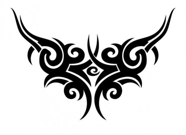 Tribal tattoo wings Vector | Free Download