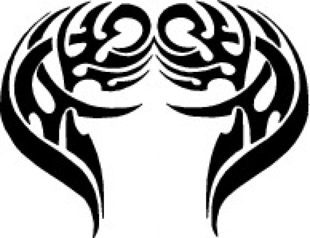 Tribal wings design Vector | Free Download